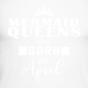 Mermaid Queens April - Men's Long Sleeve Baseball T-Shirt