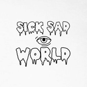 sicksadworld - Langermet baseball-skjorte for menn