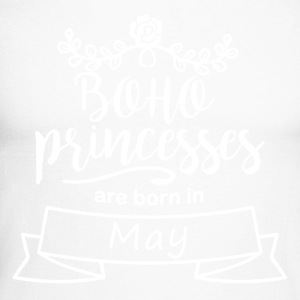 Boho Princesses are born in May - Men's Long Sleeve Baseball T-Shirt