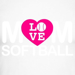 amour maman softball - T-shirt baseball manches longues Homme