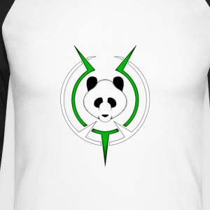 Panda - Men's Long Sleeve Baseball T-Shirt