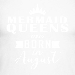 Mermaid Queens August - Men's Long Sleeve Baseball T-Shirt