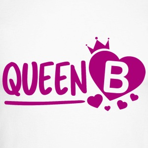 Queen B - Men's Long Sleeve Baseball T-Shirt