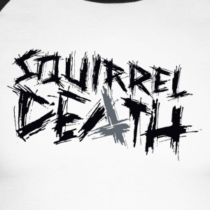 SQUIRREL DEATH - Logo positively - Men's Long Sleeve Baseball T-Shirt