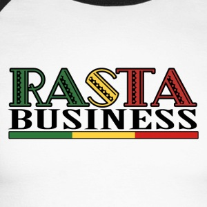 Rasta Business - Men's Long Sleeve Baseball T-Shirt