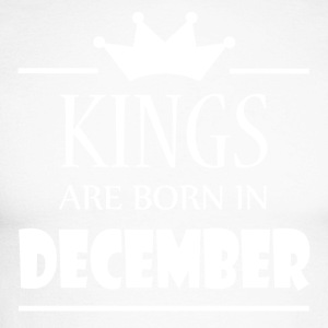 Kings are born in December - Men's Long Sleeve Baseball T-Shirt