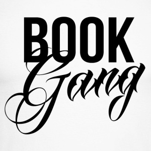 Book Gang - Men's Long Sleeve Baseball T-Shirt