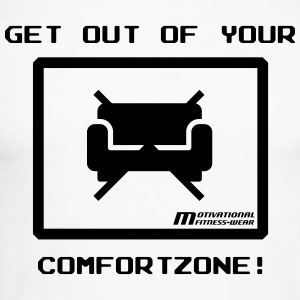 Get out of your comfort zone! - Männer Baseballshirt langarm