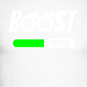 Boost Loading - Turbolader - Turbo T-skjorte! - Langermet baseball-skjorte for menn