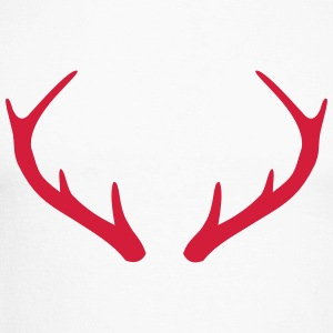 Antlers stag - Men's Long Sleeve Baseball T-Shirt