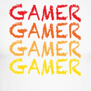 Gamer - T-shirt baseball manches longues Homme