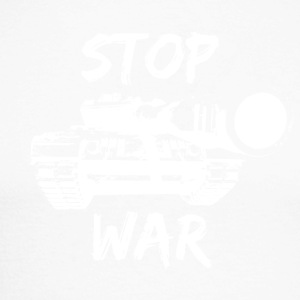 Stop War 005 AllroundDesigns - Men's Long Sleeve Baseball T-Shirt