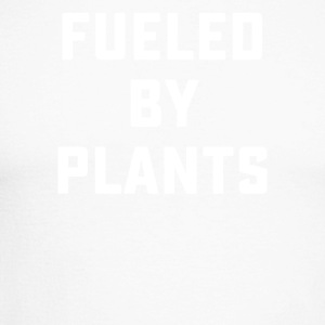 Fueled By Plants - Men's Long Sleeve Baseball T-Shirt