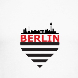 Berlin Skyline - Men's Long Sleeve Baseball T-Shirt