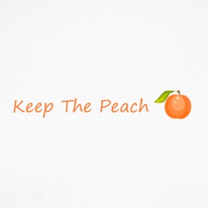 Keep the sweet peach with peach - Men's Long Sleeve Baseball T-Shirt