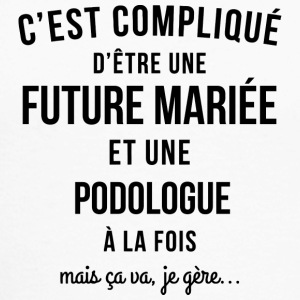 EVJF future mariee et Podologue - T-shirt baseball manches longues Homme