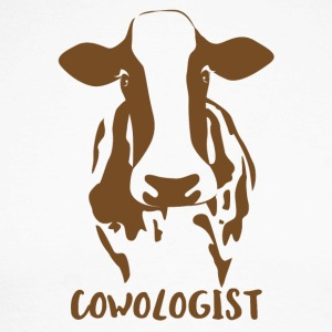 Farmer / Farmer / Farmer: Cowologist - Men's Long Sleeve Baseball T-Shirt