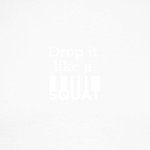 Drop It Like A Squat - Männer Baseballshirt langarm