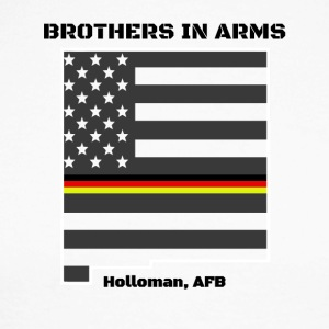 Brothers in Arms German Air Force in New Mexico - Men's Long Sleeve Baseball T-Shirt
