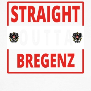 Straight outta Bregenz - Langermet baseball-skjorte for menn