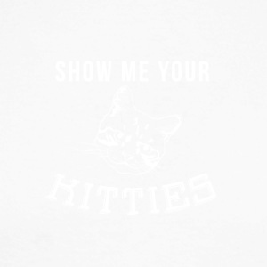 Show me you Kitties SHirt - Men's Long Sleeve Baseball T-Shirt