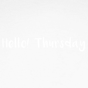 Hello Thursday - Men's Long Sleeve Baseball T-Shirt