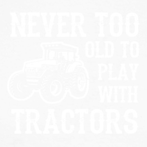 Tractors - Men's Long Sleeve Baseball T-Shirt