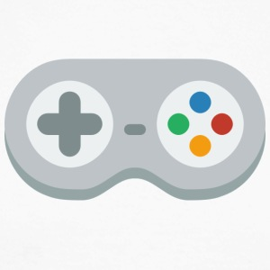gamepad! - Langermet baseball-skjorte for menn