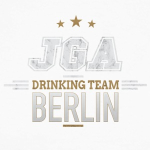 Bachelor JGA Berlin Drinking Team - Langermet baseball-skjorte for menn