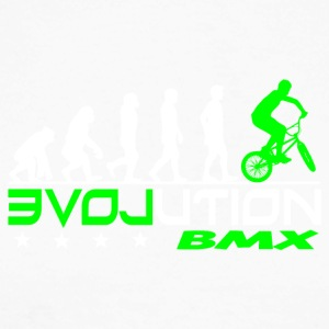EVOLUTION BMX - Langermet baseball-skjorte for menn