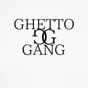 GHETTO GANG - Men's Long Sleeve Baseball T-Shirt
