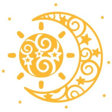 stern, sterne, star, schwarz, weiß, himmel, symbol männer premium langarmshirt | spreadshirt
