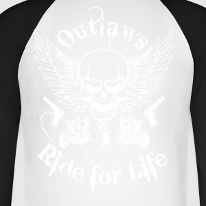 Biker - Men's Long Sleeve Baseball T-Shirt