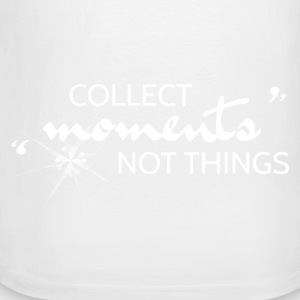 Collect Moments not Things - Men's Long Sleeve Baseball T-Shirt