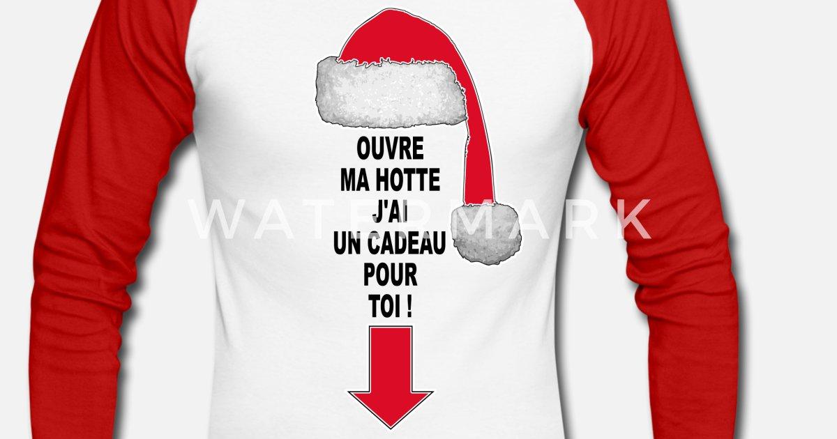 Humour Pere Noel Image.Pere Noel Humour Men S Longsleeve Baseball T Shirt Spreadshirt