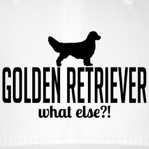Golden Retriever whatelse - Czapka z daszkiem flexfit