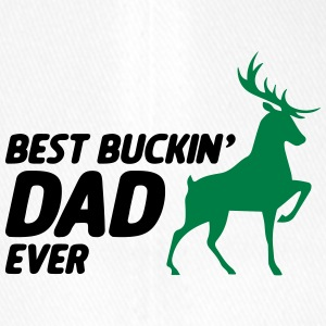 Best Dad Ever Buckin for hjortejakt - far - Flexfit baseballcap