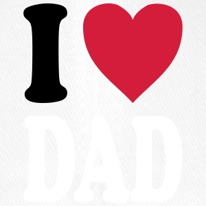 I love DAD - Flexfit Baseballkappe