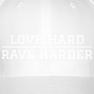 liefde Hard - harder rave festival - Flexfit baseballcap