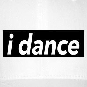 I dance black - Dance Shirts - Flexfit Baseball Cap