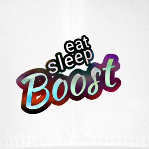 Eat sleep B00ST Magic Color - Flexfit Baseballkappe