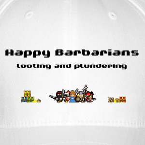 Happy Barbarians - Looting and Plundering - Flexfit Baseball Cap