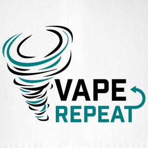 Vape and Repeat - Vaper slogan - Flexfit Baseball Cap