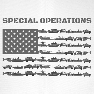 Special Operations America flag - Flexfit basebollkeps