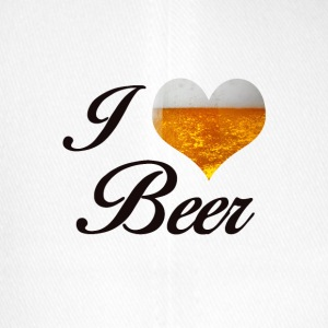 I LOVE BEER - Flexfit Baseballkappe