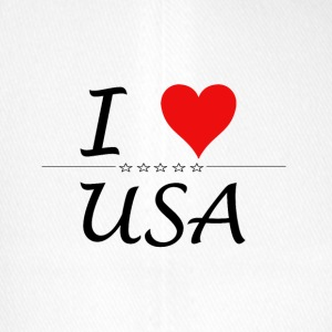 I Love USA - Flexfit Baseball Cap