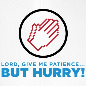 God, Give Me Patience. But Hurry! - Flexfit Baseball Cap
