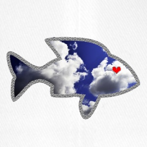 The fish in love - Flexfit Baseball Cap