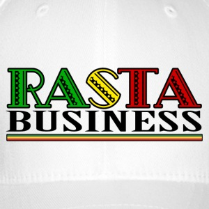Rasta Business - Flexfit Baseball Cap