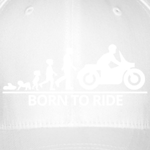 born to ride - Gorra de béisbol Flexfit